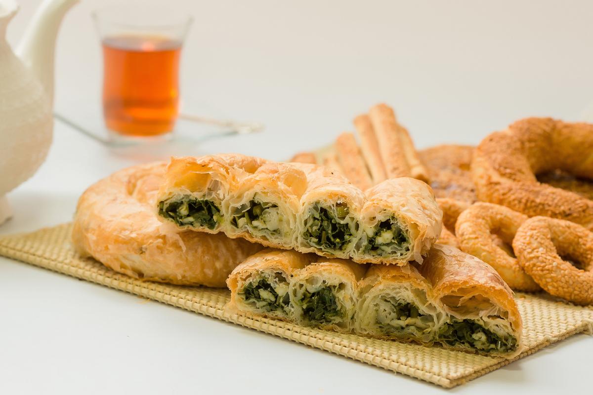 Ispanaklı Focaccia